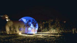 reservar habitación de hotel burbuja Galicia