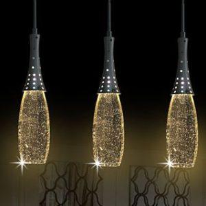 Comprar lampara de techo con burbuja de cristal