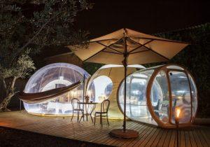 hoteles de burbujas en barcelona
