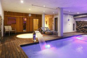 burbujas hotel, con spa