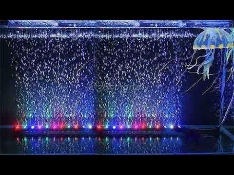 Luces y burbujas para peceras y acuarios